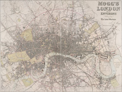 London and its environs. Drawn from the latest surveys